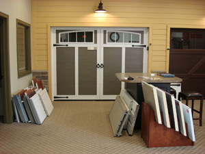 Eastman Estate - Garage doors showroom of Environmental Door