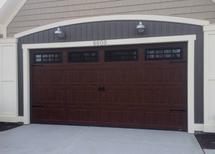 North Hatley in American Walnut with decorative hardware, 16' x 7', Thermpane Stockton windows
